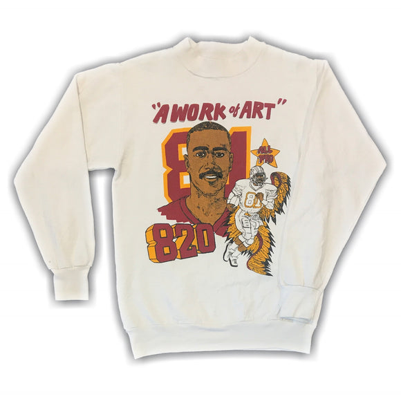 NFL Art Monk 1992 Record Sweater Small