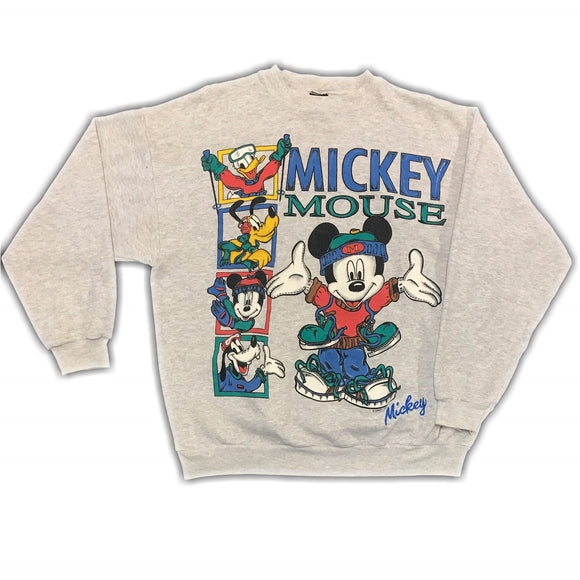 Disney Winter Sports Sweatshirt Mens XS Wmns Large