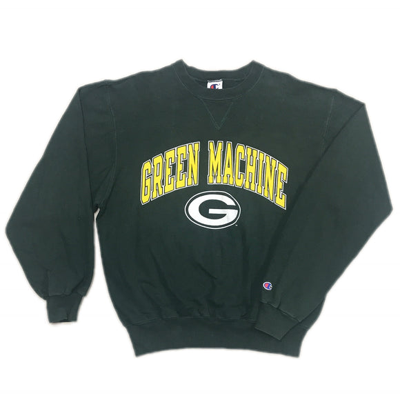 NFL Green Machine Packers Sweater Wmns L Mens XS