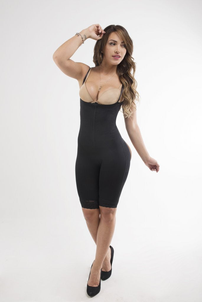 a77627d2c5d13 ISABELLA CLIP AND ZIP FULL BODY SHAPER – WaistStrapper