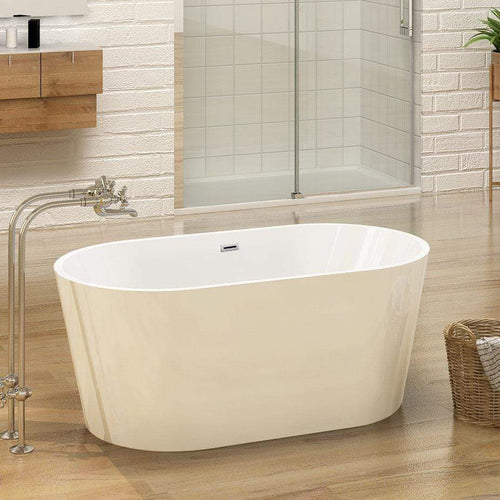ELEGANT SHOWERS Modern Bathroom Freestanding baths Round