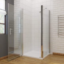 ELEGANT SHOWERS Bathroom Frameless Pivot Shower Screen - Elegantshowers
