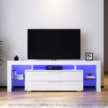 ELEGANT TV Cabinet Entertainment Unit Stand Gloss Furniture White 1600mm - Elegant Showers