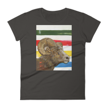 Bighorn Sheep - Women's short sleeve t-shirt