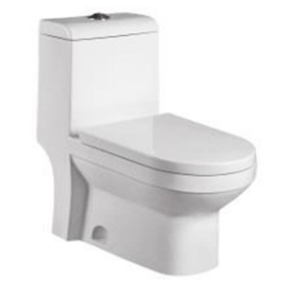 Toilet White High Efficient