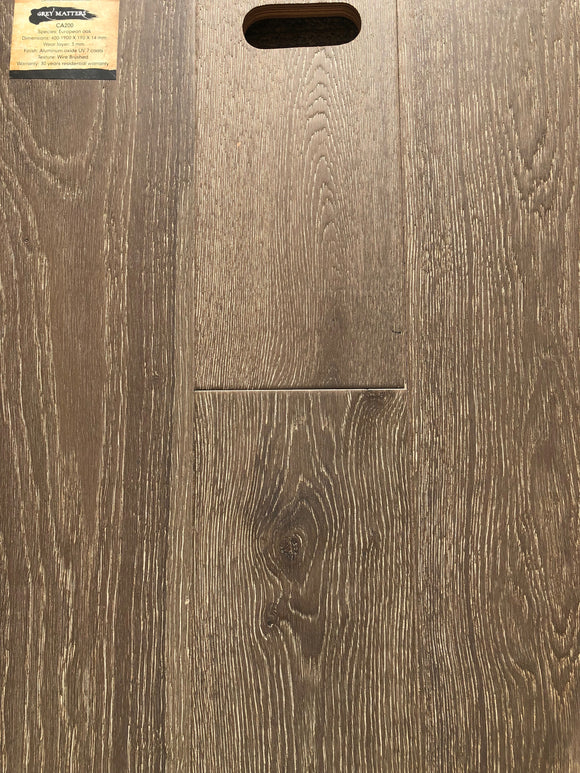 Engineered Wood - Grey Matters #CA-200