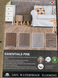 SPC Rigid Core - Vinyl - 100% WaterProof - Essentials Pine color
