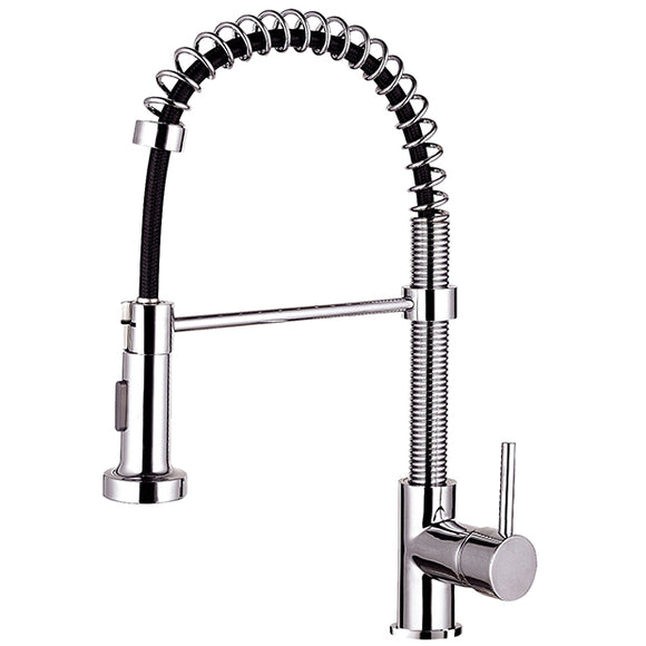 Kitchen Faucet Stainless Steel Brushed Nickel with single lever pullout #N88502-BN