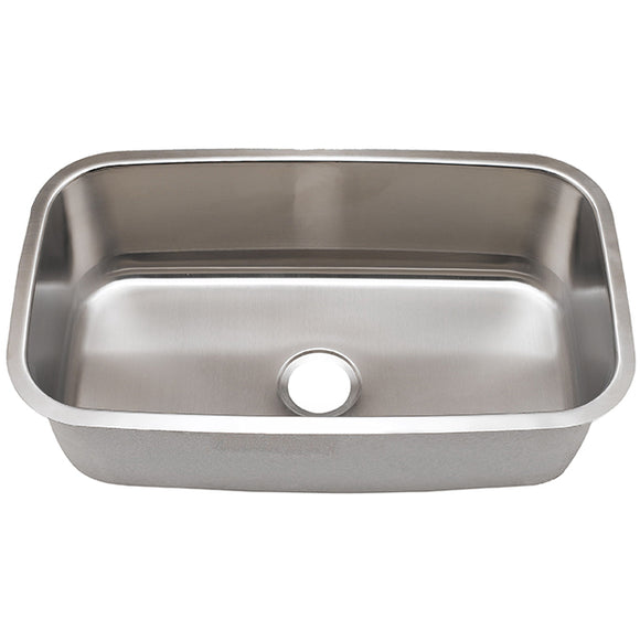 Kitchen Sink Stainless Steel 18 Gauge #SM3118