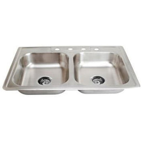 Kitchen Sink Stainless Steel 20 Gauge SM560D/S