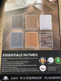 SPC Rigid Core - Vinyl - 100% WaterProof - Essentials Nutmeg color