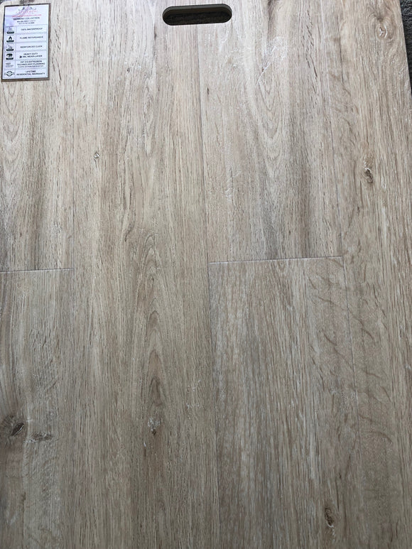 Vinyl Floor 100% Waterproof - Color Malibu Gray #CA111