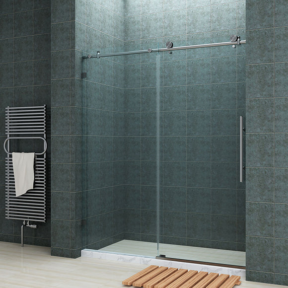 FULLY FRAMELESS SHOWER DOOR - BP05P2-6062CB 60