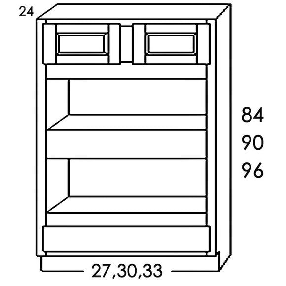 DOUBLE OVEN CABINET DOC3390 33