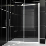 "SHOWER DOOR FRAMELESS 60"" WIDE 72"" HIGH - B038-6072CC"