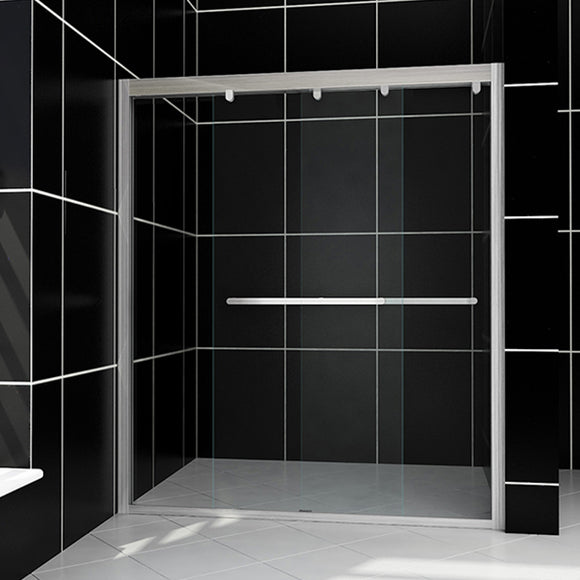SHOWER DOOR FOR BATHTUB SOFT CLOSE 60