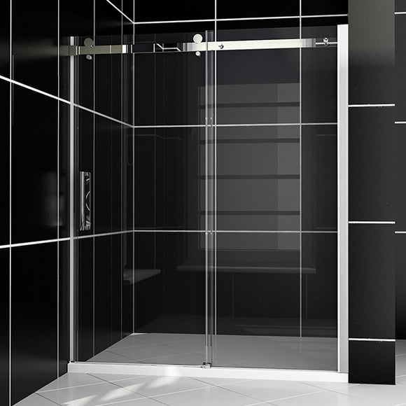 SHOWER DOOR FRAMELESS 60
