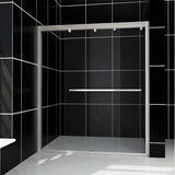 "SHOWER DOOR SOFT CLOSE 60"" WIDE 76"" HIGH - BSC-6076CB"