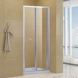 "BIFOLDING SHOWER DOOR 29"" TO 30"" WIDE 72"" HIGH - B1202-BF30"