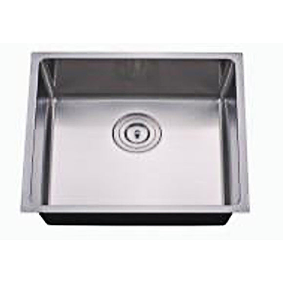 Kitchen Sink with Radius Corner Stainless Steel 18 Gauge #RD2318-12D