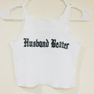 Husband Beater Croptop
