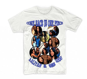 "Aaliyah & Dmx ""Come Back In One Piece"" T-shirt"