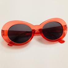 Retro Oval Sunglasses