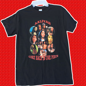 "Aaliyah ""Come Back In One Piece"" T- Shirt"