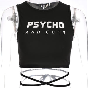 Psycho And Cute Croptop