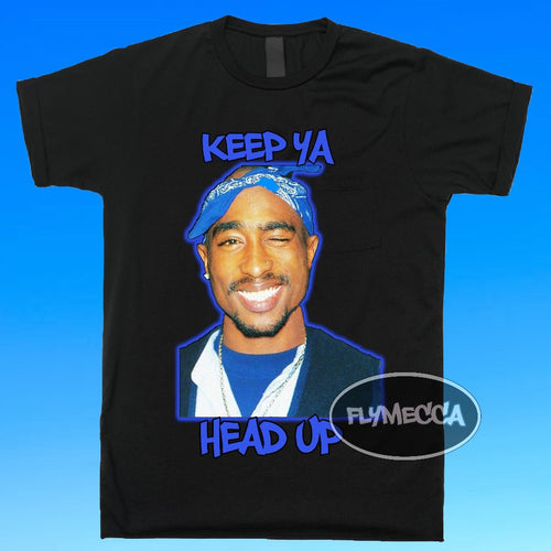"Keep Ya Head Up ""Tupac"" T-shirt"