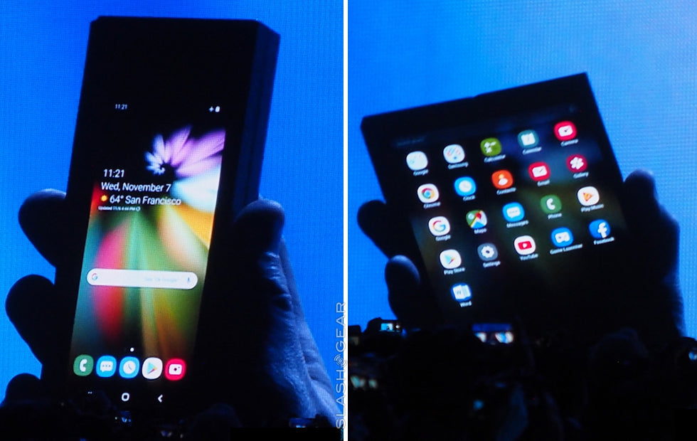 Samsung reveals world's first folding smartphone…finally!