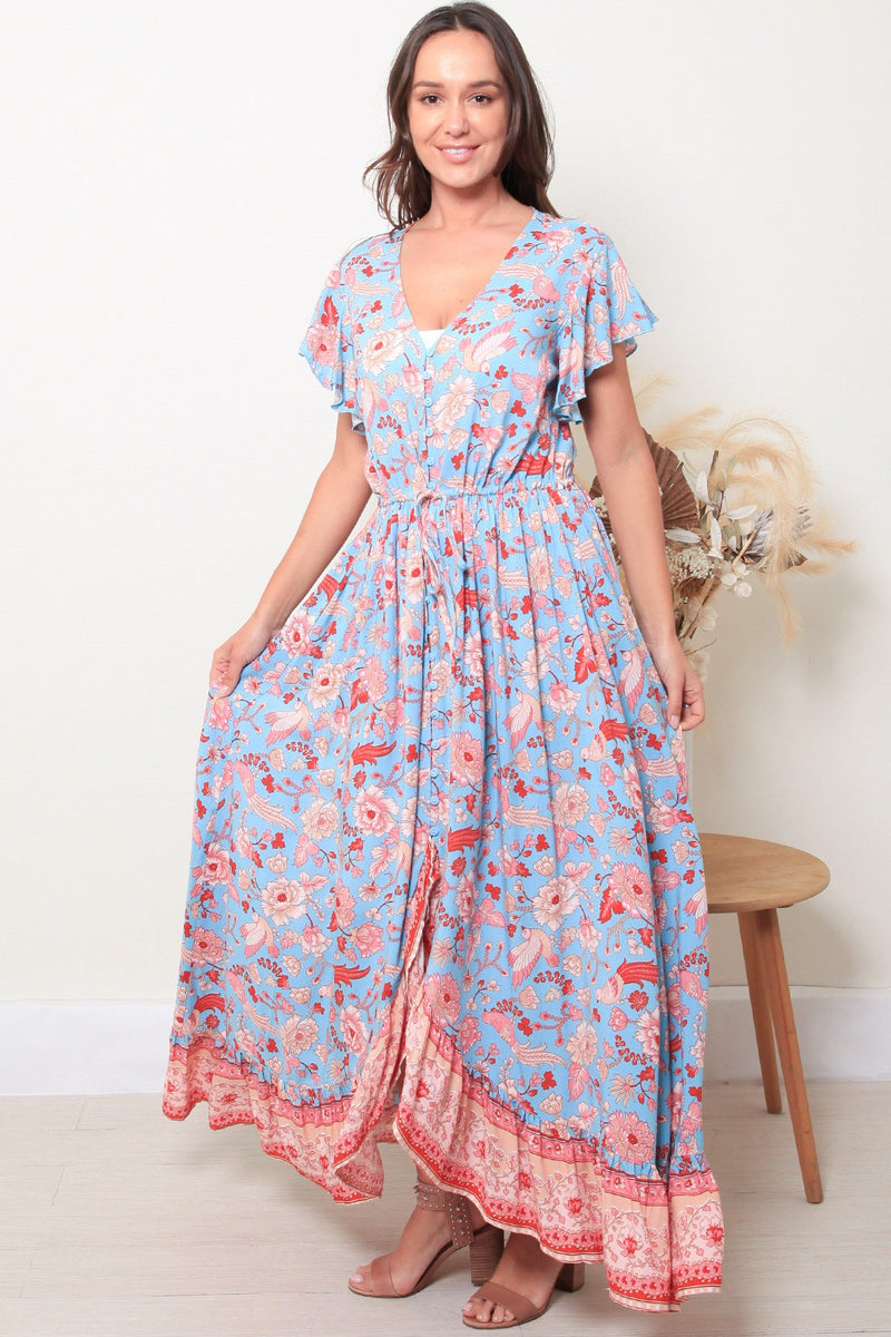 Romance in Paris Hi-Lo Dress