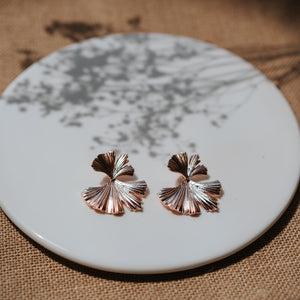 Hansel Rose Gold Earrings