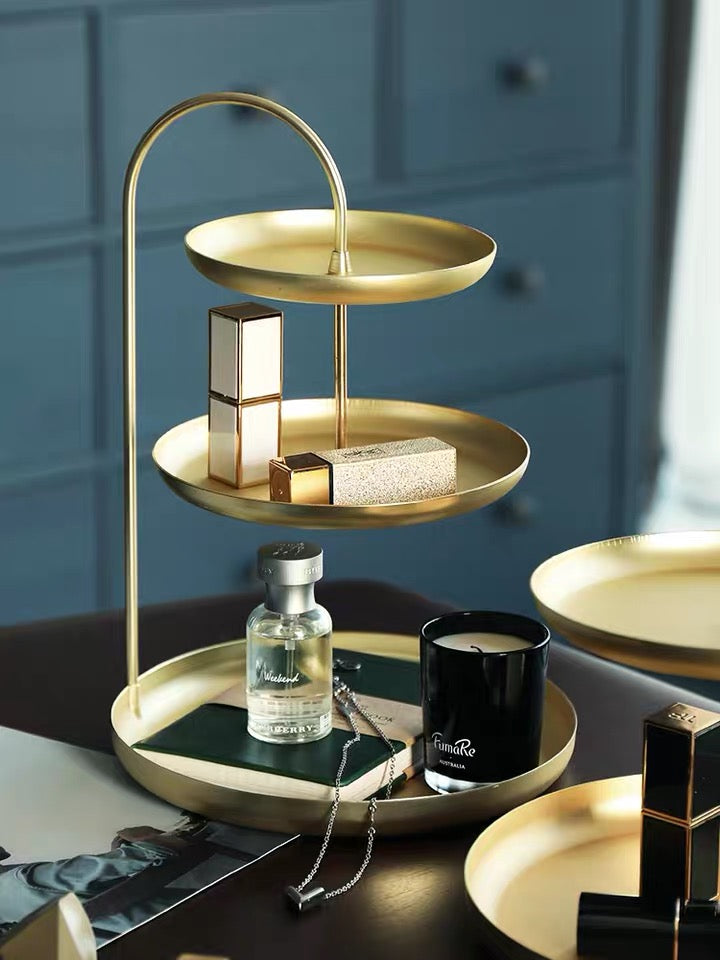 *PREORDER* 3-Tiered Gold Accessory Plate