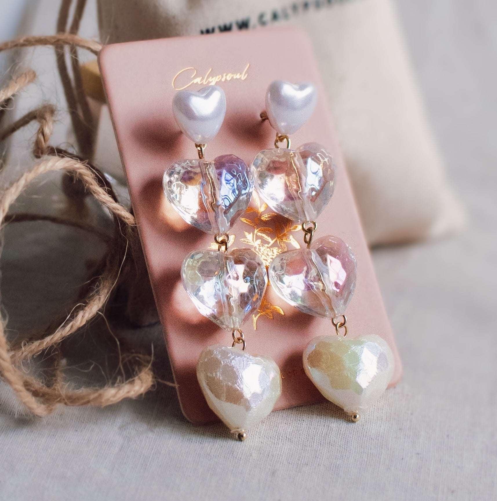 925 SILVER Livvy Holographic Earrings