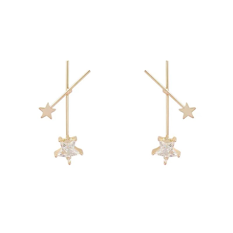 925 SILVER Terra Star-crossed Earrings