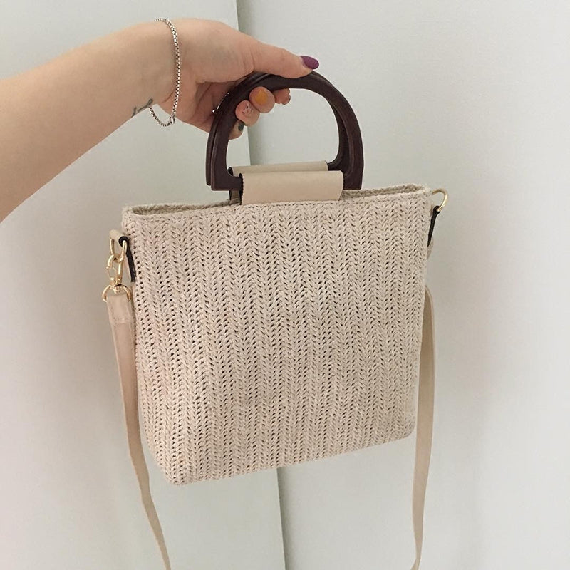*PREORDER* Shana 2-Way Bag (Cream)