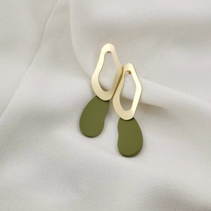 Bridget Earrings (Olive)