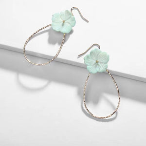 Dionne Earrings (Aquamarine)