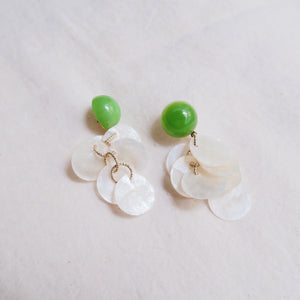 Neveah Earrings (Matcha)
