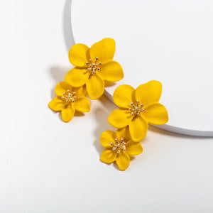 *BACKORDER* Florinna Earrings (Yellow)
