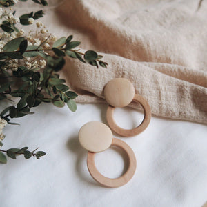 Inessa Wood Earrings