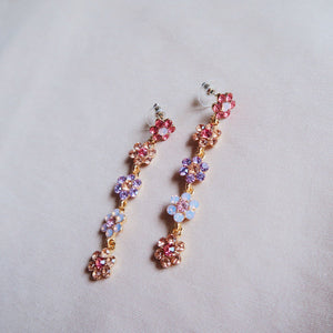 Herlaine Pastel Floral Earrings