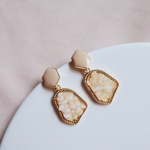 Bryonia Earrings (Nude)