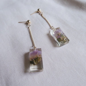 Zoie Dried Flowers Earrings