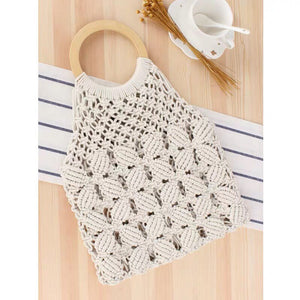 *PREORDER* Derille Weaved Bag (Cream)