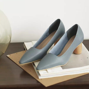 *PREORDER* Clara Heels (Powder Blue)