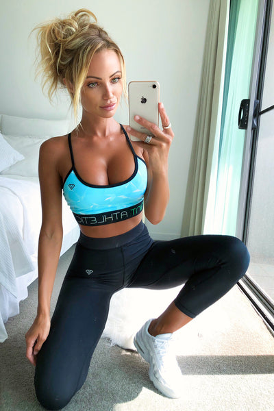 Mint Athletic | Aurora Yoga Bra