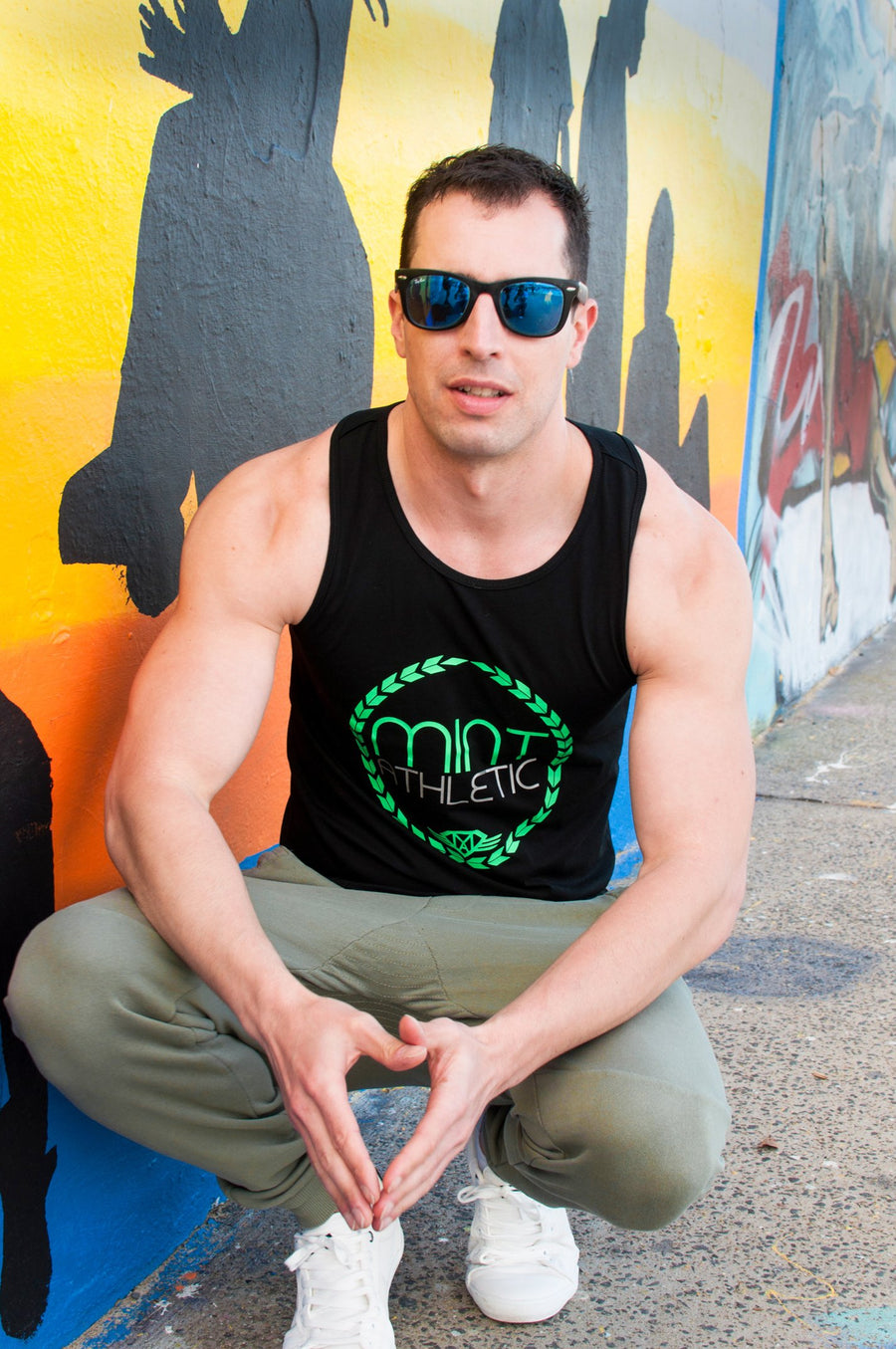 Black Classic Tank Top - Mint Athletic Apparel