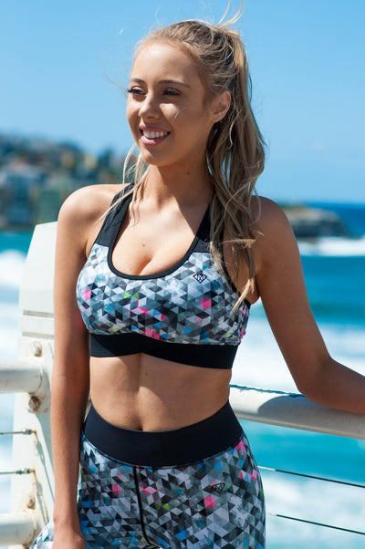 Austin Sports Bra - Mint Athletic Apparel